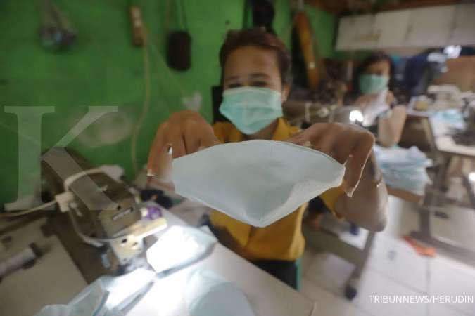 Pemerintah menetapkan 3 tipe masker kain SNI.