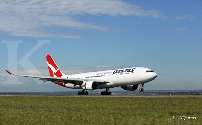Qantas Airways menetapkan target pengeluaran tahunan US$ 1,36 miliar