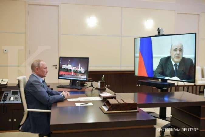 Menyusul Mishustin, dua menteri di pemerintahan Putin positif corona (covid-19)