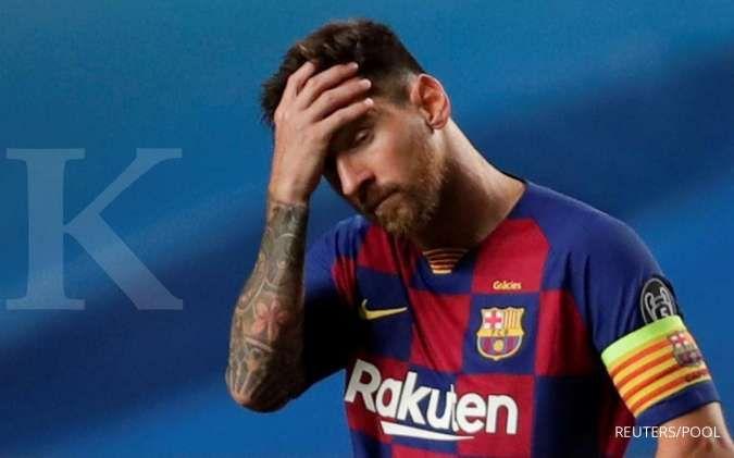 Ini upaya Lionel Messi untuk tinggalkan Barcelona secara gratis