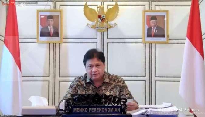 Menko Airlangga sebut kontribusi kasus Covid-19 luar Jawa – Bali sebesar 59,46%