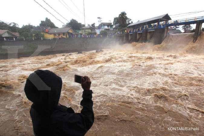 Awas Jakarta! Bendung Katulampa siaga I