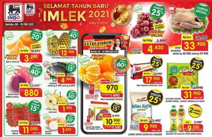 Promo Superindo weekdays 8-10 Februari 2021