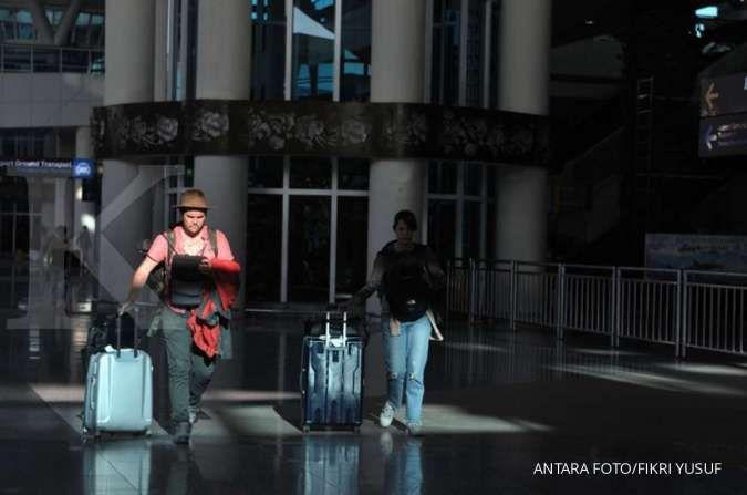 Akibat corona, kunjungan wisata mancanegara Februari menurun hingga 30,42%