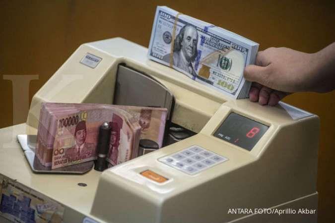 Rupiah masih bertahan menguat di Rp 14.890 per dolar AS siang hari ini