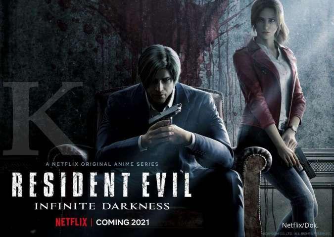 Serial anime Netflix original Resident Evil: Infinite Darkness tayang bulan Juli!