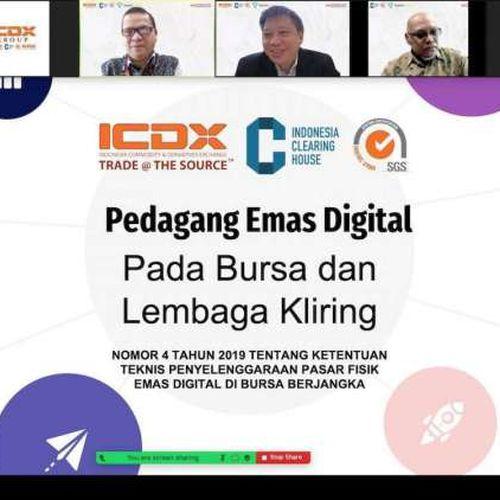 ICDX dan ICH Resmi Memperoleh Izin Bappebti Selenggarakan Pasar Fisik Emas Digital