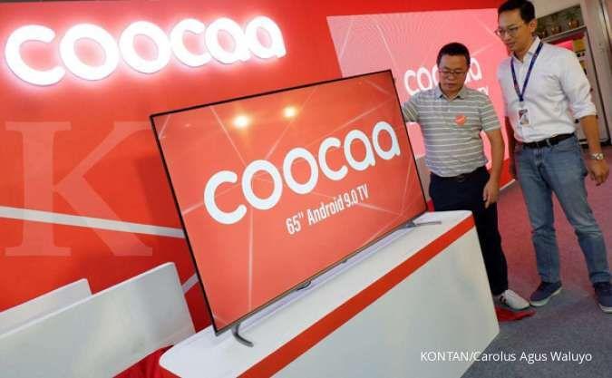 Coocaa jual lima produk Smart TV baru dengan harga termahal Rp 11 juta