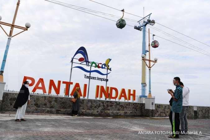 Jumlah pengunjung Taman Impian Jaya Ancol mencapai 7.094 orang pada Sabtu (17/10)