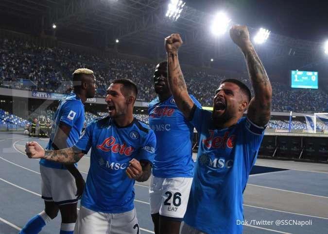 Hasil Napoli vs Cagliari di Liga Italia: Tekuk Rossoblu 2-0, Partenopei jaga rekor