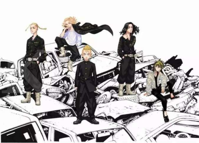 Suka Tokyo Revengers? Ini 5 anime lain yang tidak kalah seru