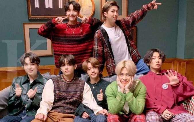 BTS, penyanyi dengan brand reputasi terbaik di Desember tahun 2020