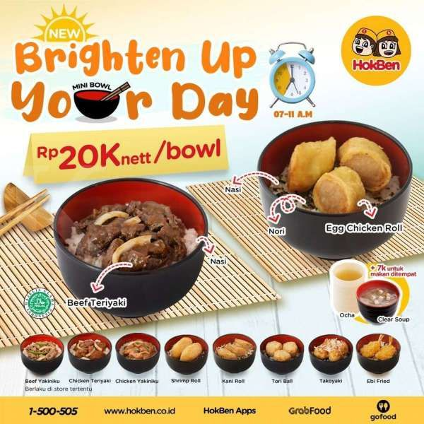 Promo HokBen Mini Bowl