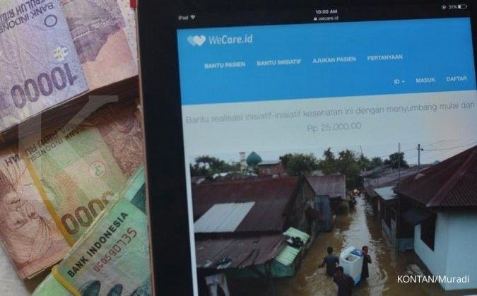 WeCare.id targetkan distribusi Rp 10 miliar dana donasi kesehatan bagi pasien