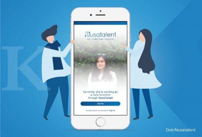 Start Up Nusatalent bermitra dengan 75 perusahaan di Indonesia