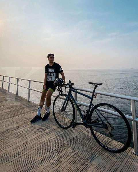 Bukan sepeda mahal, inilah pilihan sepeda Vidi Aldiano