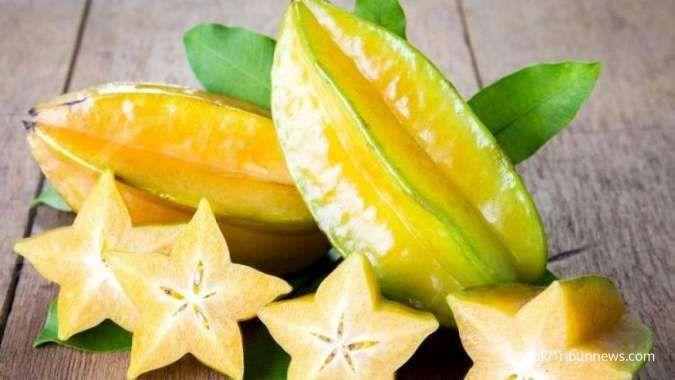 Ilustrasi. Penderita tipes sebaiknya menghindari mengonsumsi buah belimbing.