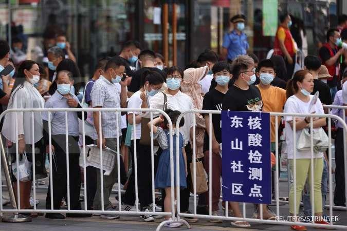 Perangi wabah baru COVID-19, kota di China ini larang penduduk keluar kota