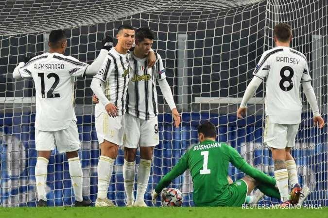 Hasil pertandingan Juventus vs Crotone di Liga italia