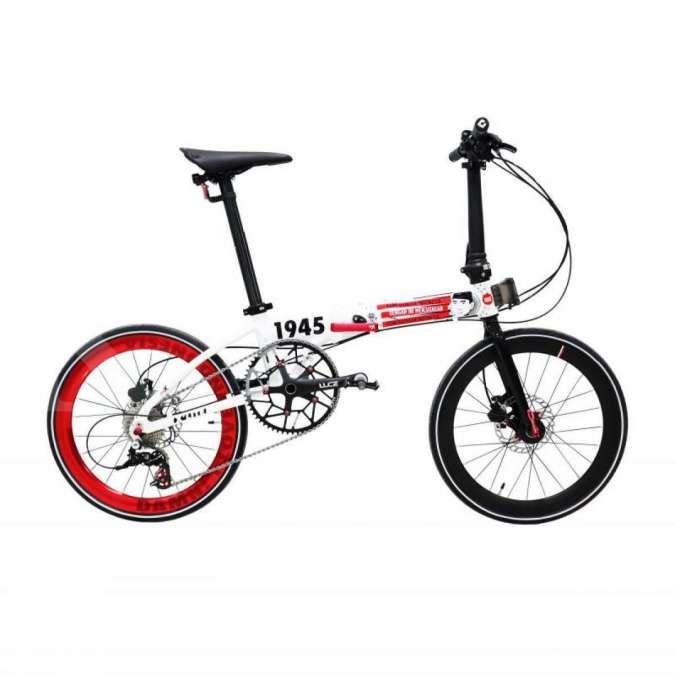 Turun Rp 1 juta! Diskon harga sepeda lipat Foldx xlite Damn I Love Indonesia