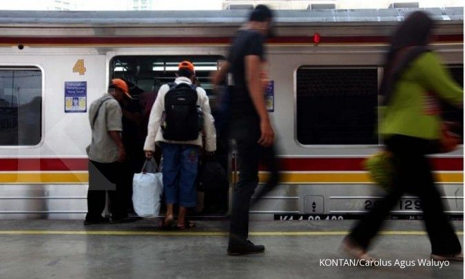 Khusus hari ini, KRL Rangkasbitung-Tanah Abang hanya sampai stasiun Kebayoran
