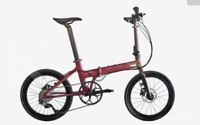 Siap diajak berpetualang! Harga sepeda lipat United Haste Q masih terjangkau