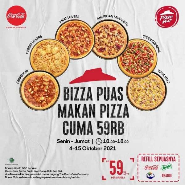 Promo Pizza Hut terbaru hingga 15 Oktober 2021