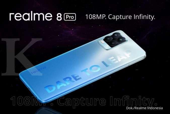 Kini harga Realme 8 Pro dibanderol Rp 4,5 jutaan, begini spesifikasinya