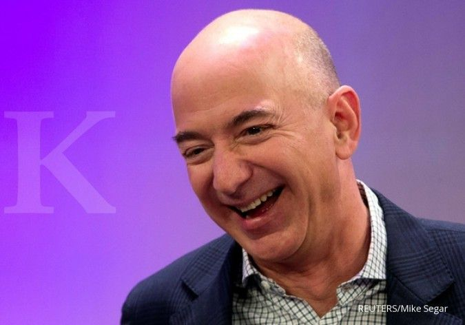 Punya kekayaan Rp 2.887 triliun, Jeff Bezos kembali jadi orang terkaya dunia