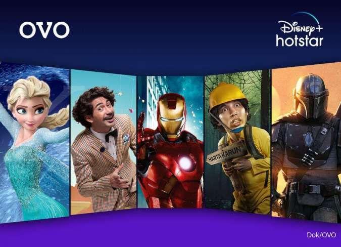 Kini OVO layani transaksi pembayaran digital langganan Disney+ Hotstar dan Spotify