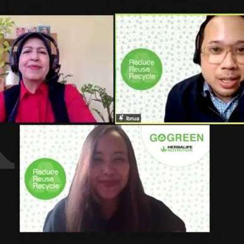 Herbalife Nutrition Bersama Komunitas Kampanye Go Green