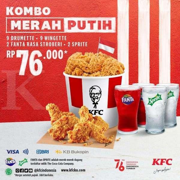 Promo KFC terbaru 16-18 Agustus 2021.