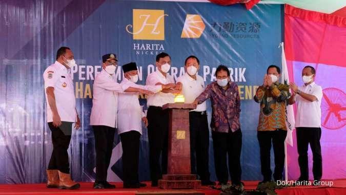 Pabrik bahan baku kendaraan listrik pertama di Indonesia resmi beroperasi