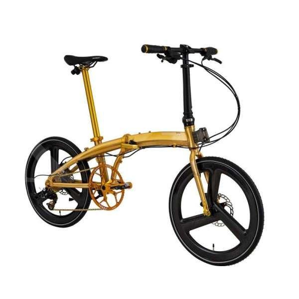 Sepeda Sultan! Harga sepeda lipat Element Ecosmo gold 11SP bikin isi kantong kandas