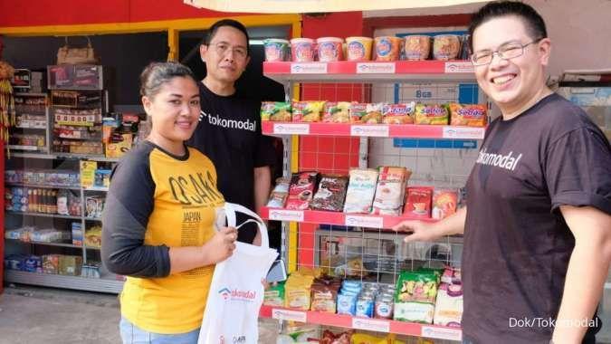 Tokomodal gandeng Alfamart beri bantuan pada warung binaan korban tsunami