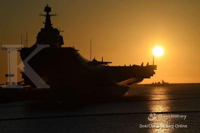 Militer China kirim pesan ke Washington saat gelar latihan kapal induk dekat Taiwan