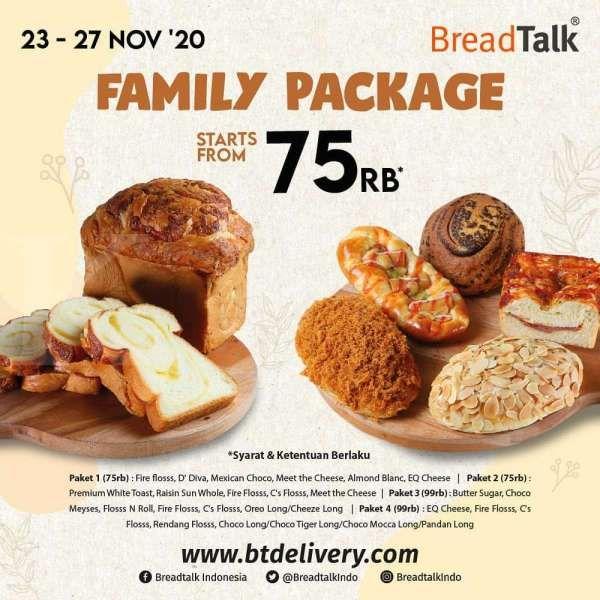 Promo BreadTalk periode 23-27 November 2020