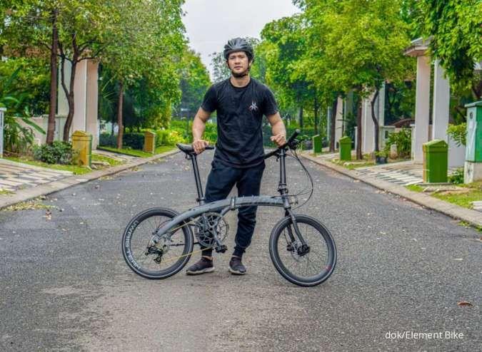 Baru lagi, harga sepeda lipat Camp Snoke 451 x Iko Uwais ringan di kantong