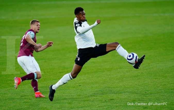 Hasil laga Fulham vs Burnley di Liga Inggris