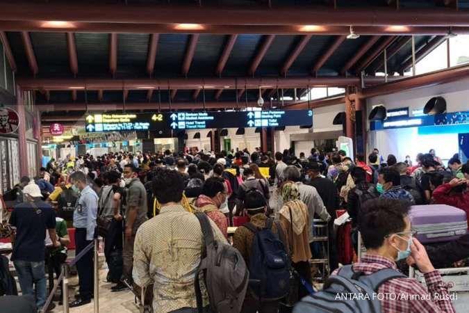 Satu penumpang pesawat rute Jakarta-Sorong positif Covid-19, 43 orang jalani tes swab