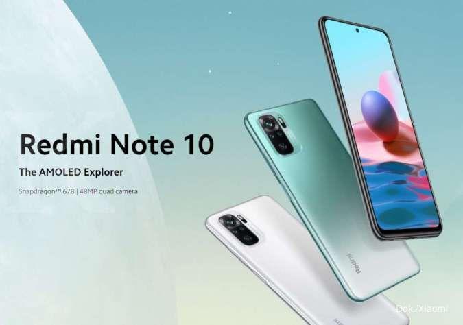 Spesifikasi dan harga HP Redmi Note 10