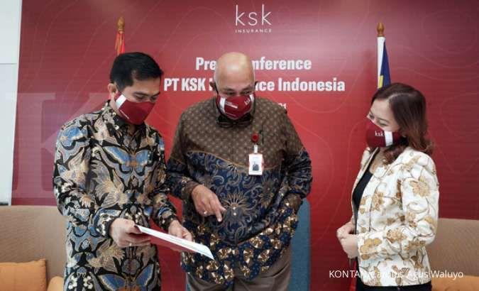 Pada tahun lalu, premi KSK Insurance tumbuh 18%