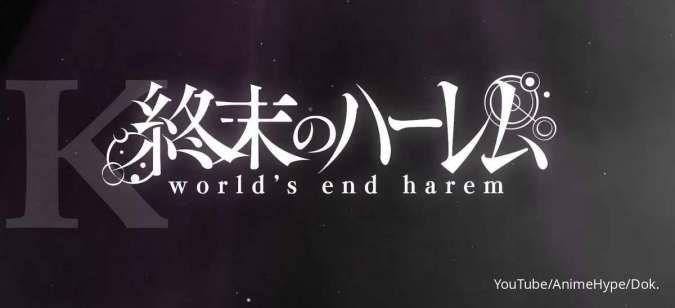 Sinopsis anime World's End Harem (Shuumatsu no Harem): Beberapa pria tersisa di Bumi