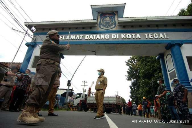 Walau masuk zona hijau, destinasi wisata di Tegal tetap patuhi protokol kesehatan
