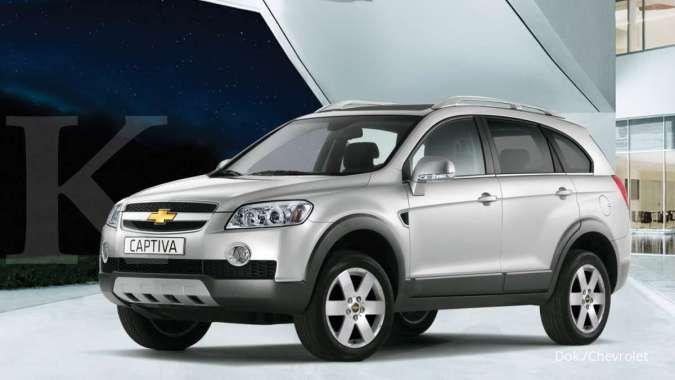 Pilihan harga mobil bekas murah, ada Chevrolet Captiva generasi ini