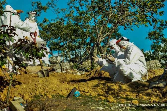 Ada 139 orang meninggal, Indonesia catat rekor kematian harian akibat corona