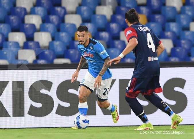 Hasil Napoli vs Cagliari di Liga Italia Serie A