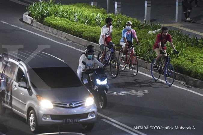 Meresahkan, begal mulai incar pesepeda di jalan-jalan protokol Jakarta