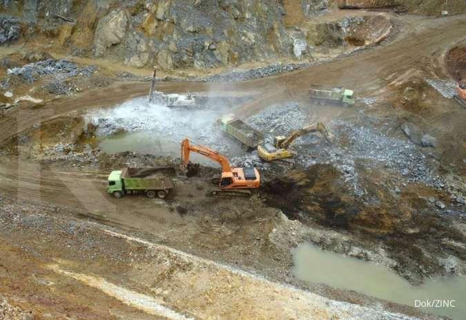 Tambah kapasitas produksi, Kapuas Prima Coal (ZINC) investasi infrastruktur tambang