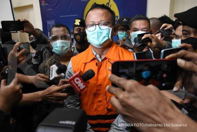 Pasca ditetapkan jadi tersangka, Edhy Prabowo minta maaf ke Gerindra